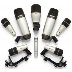 DK8 KIT Set di Microfoni per Batteria (8 pezzi) Samson
