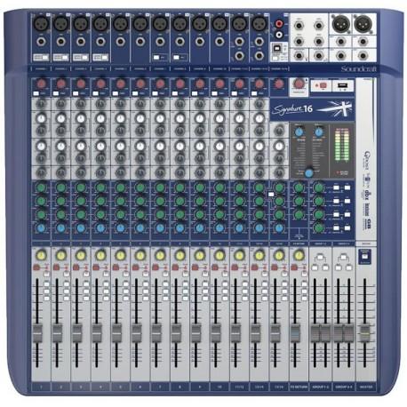 Signature 16 Mixer 16 ingressi Soundcraft