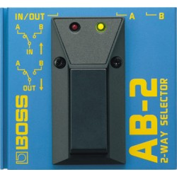 AB-2 Pedale selettore a 2 vie Boss