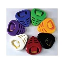 A010B Portaplettro adesivo colori assortiti