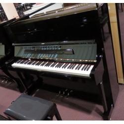 Pianoforte verticale 127 colore nero Petrof