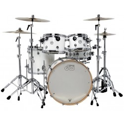 Drum Workshop shell set design white gloss