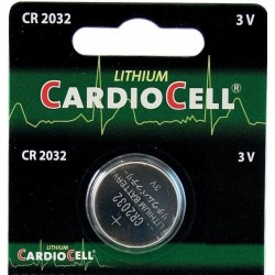 CR2032 batteria cardiocell