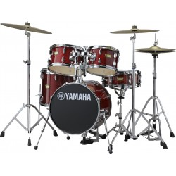 Junior Kit batteria acustica Cranberry Red Yamaha
