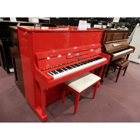Pianoforte verticale rosso W.Hausmann - Strumenti Musicali Marino ...