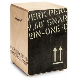 CP 403-BLK 2inOne Snare Cajon Black Edition Schlagwerk