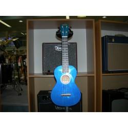 Mahalo Hano Series Ukulele con borsa blu trasparente