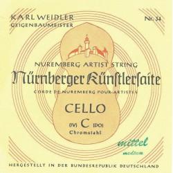 Nürnberger corde per violoncello Künstler