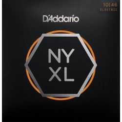 D'Addario NYXL1046 chitarra elettrica Nickel Wound, Regular Light, 10-46