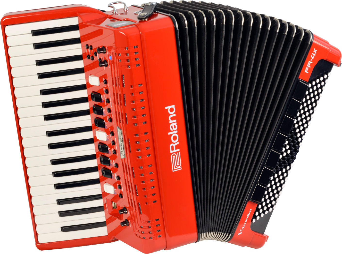 Fr 4x v accordion roland strumenti musicali marino baldacci