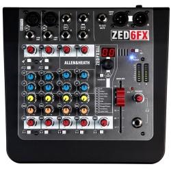 Allen & Heath ZED-6FX mixer