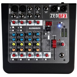ZED-6FX mixer Allen & Heath