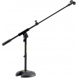 MS120B Supporto basso per microfono con giraffa Hercules Stands