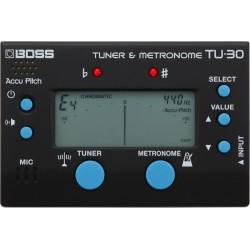 Boss TU30 Accordatore e metronomo