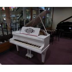 Pianoforte coda bianco lucido usato Wohlfahrt