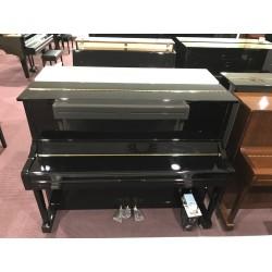 Hausmann HU-121E pianoforte verticale silent nero lucido