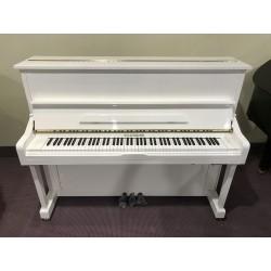 HU-121W pianoforte verticale silent bianco lucido W.Hausmann