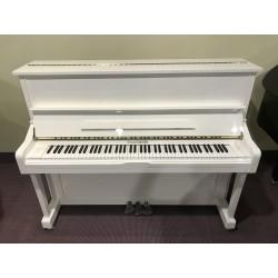 Hausmann HU-121W pianoforte verticale bianco lucido