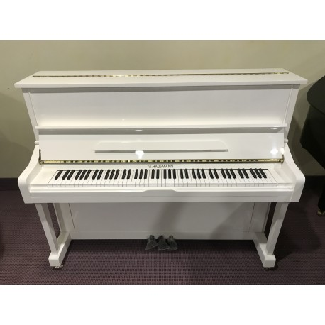 HU-121W pianoforte verticale bianco lucido W.Hausmann