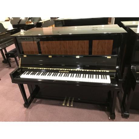 AC-125B pianoforte verticale nero lucido W.Hausmann