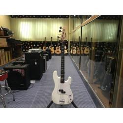 Mi.Lor Precision MLBASS basso elettrico vintage white