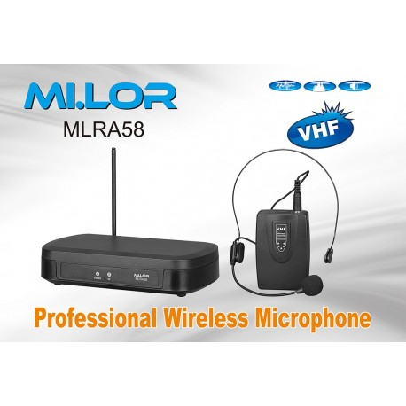 Mi.Lor MLRA58 radiomicrofono 174.5 Mhz