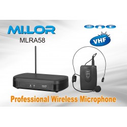 Mi.Lor MLRA58 radiomicrofono 186.6 Mhz