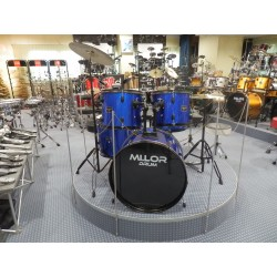 DS-012 Drum Set 5 pezzi blu Mi.Lor Drum