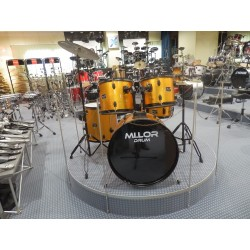 Mi.Lor Drum DS-014 Drum Set 5 pezzi arancione