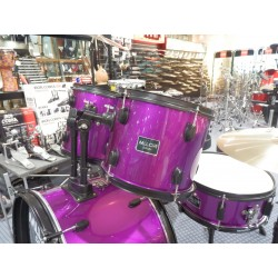 DS-013 Drum Set 5 pezzi purple Mi.Lor Drum