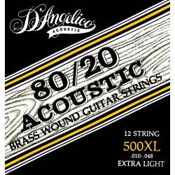 Muta D'Angelico per chitarra acustica 12 corde 500XL