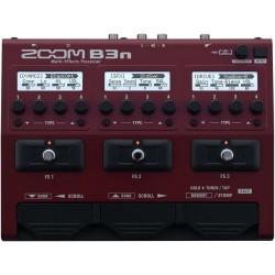 B3n pedaliera multieffetto e amp-simulator per basso Zoom