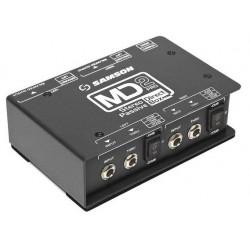 MD2PRO D.I. Box Pro stereo passiva Samson