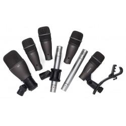 DK707 set di microfoni per batteria 7 pezzi Samson