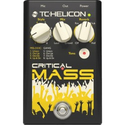 Critical Mass pedale TC Helicon
