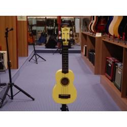 Uku primo ukulele soprano yellow Eko