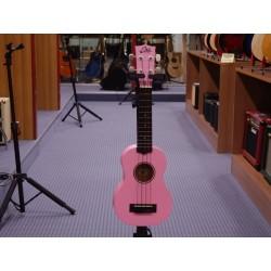 Uku primo ukulele soprano pink Eko