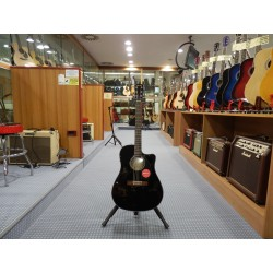 Fender Chitarra acustica elettrificata CD-60SCE BLK