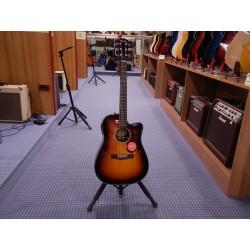 Chitarra acustica elettrificata CD-140SCE SB con case Fender