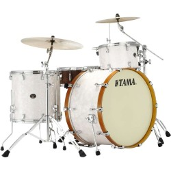 Tama VR34CZVS-SWP shell kit - finitura Snow White Pearl
