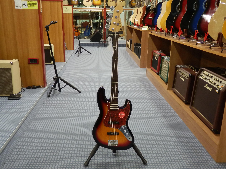 Squier vintage modified jazz bass 3 tone sunburst fender strumenti