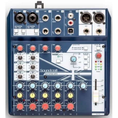 Notepad8FX Mixer Soundcraft