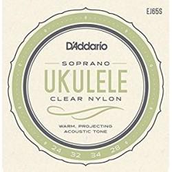 D'Addario Muta ukulele soprano