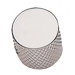 Manopola potenziometro metallo chrome Gewa