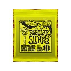 Kit 12 pz. 2221 Regular Slinky muta elettrica Ernie Ball