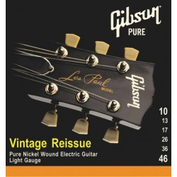 Gibson KIT 10 Pz. SEG-VR10 Vintage Reissue Electric Guitar Strings