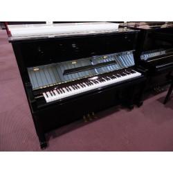 Pianoforte verticale usato 121 nero Strausser