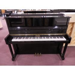 Pianoforte verticale 118 nero usato W.Hausmann