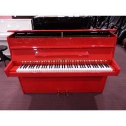Pianoforte verticale rosso usato Eisenberg