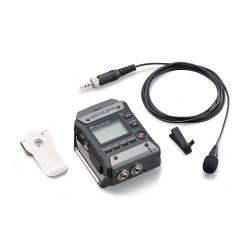 Zoom F1LP Field recorder + Microfono lavalier Zoom